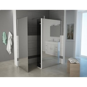 TERRA - Corner Wet Room With Return And Side Panel