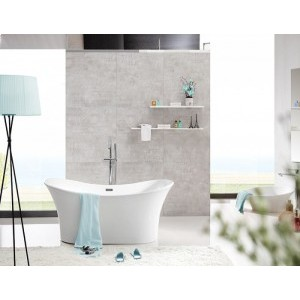 ORFEO - Acrylic Oval Freestanding Bathtub