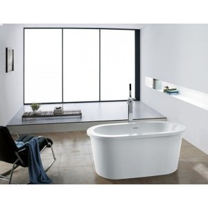 CRONUS - Acrylic Oval Freestanding Bathtub